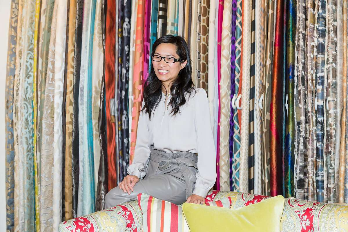 Florence Wu, who designed the new Ronald McDonald House, at the Robert Allen showroom at the SF Design Center in San Francisco, Calif., Tuesday, June 23, 2015.