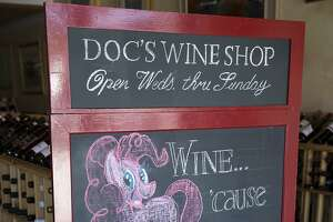Impressing oenophiles at Doc's Wine Shop - Photo