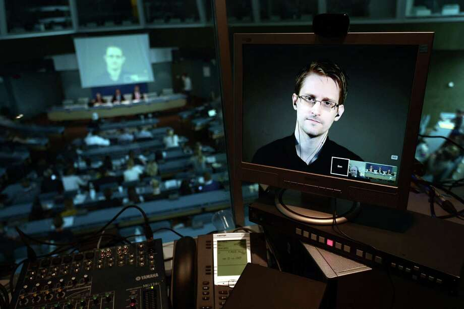 Documents leaked by ex-NSA contractor Edward Snowden in 2013 made clear that the NSA was intercepting the conversations of allied politicians. Photo: Frederick Florin /Getty Images / AFP