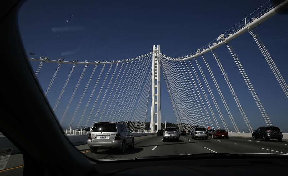 West bound direction across the eastern section of the San Francisco Oakland Bay Bridge, as seen on Tues. June 23, 2015, in San Francisco, Calif. Photo: Michael Macor, The Chronicle