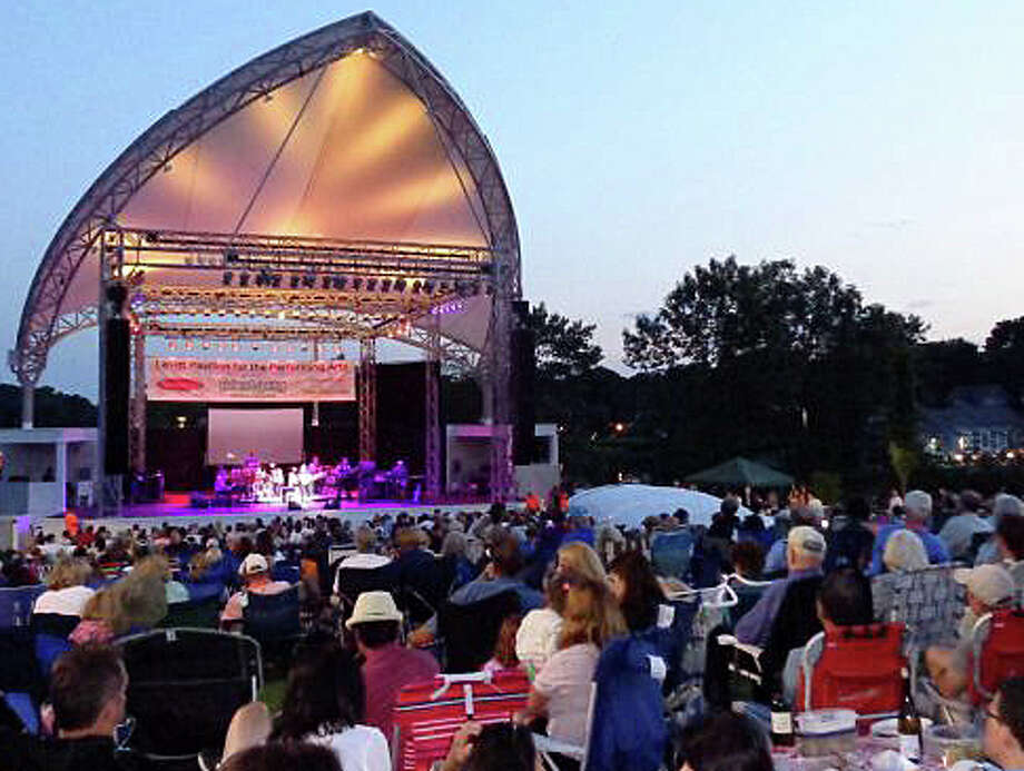The Levitt Pavilion's new season of summertime enterainment at its riverside performance space begins Sunday with a performance by the band, Orleans. Photo: File Photo / Westport News