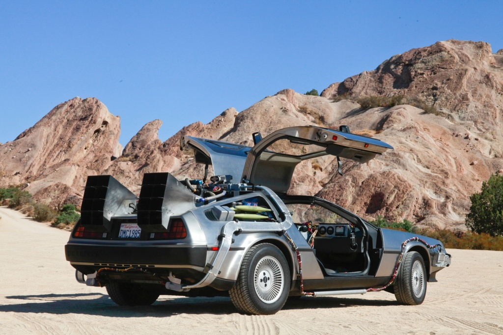 DeLorean has busy schedule due to film's anniversary year