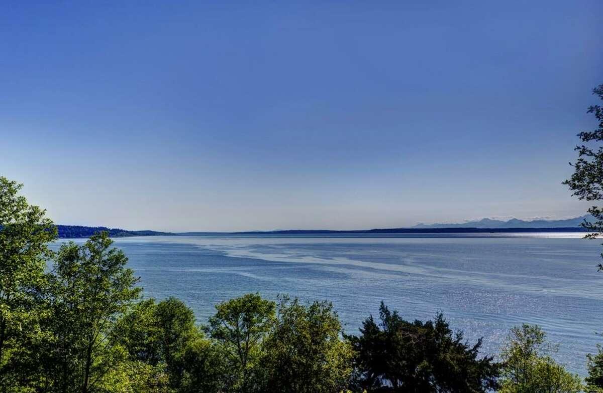 Puget Sound views abound in the home at 13229 Puget Sound Blvd. in Edmonds.