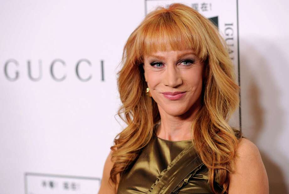 Comedian Kathy Griffin caught a lot of criticism for holding a fake severed head that looked like Donald Trump. Well, a Tennessee gas station known for being provocative decided to push back and used it's digital to do so. Photo: Chris Pizzello, INVL / Invision