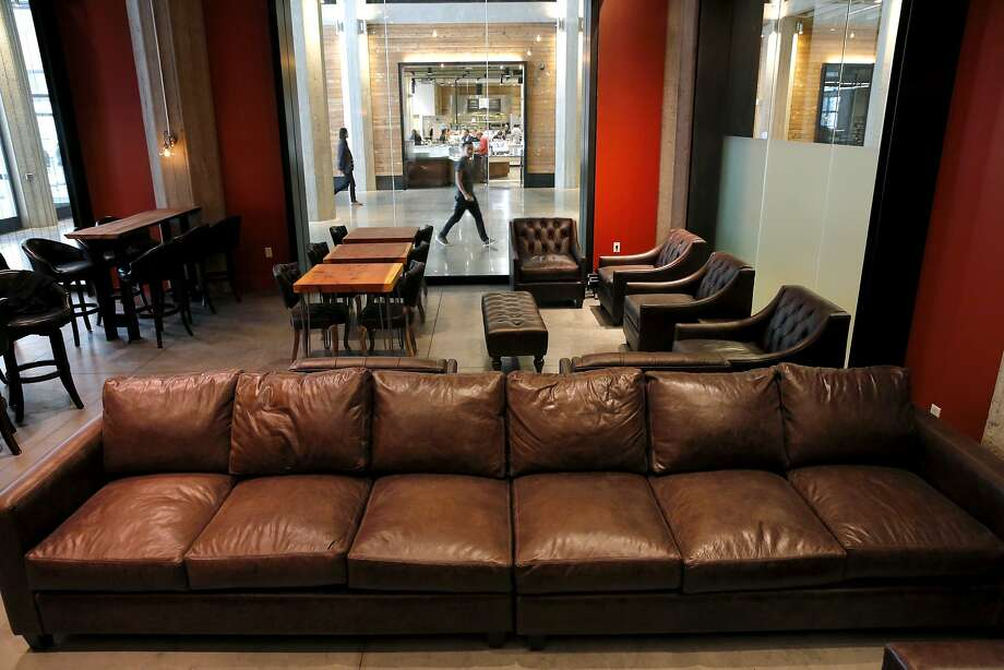 A seating area at Dirty Water. Photo: Connor Radnovich, The Chronicle