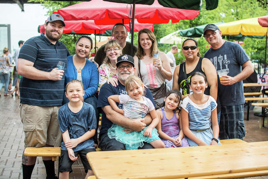 Dads and their families gathered at Alamo Beer Company on Sunday, June 21, 2015, to celebrate Father's Day at FatherFest. Photo: Isaiah Matthews, Solarshot/For MySA.com