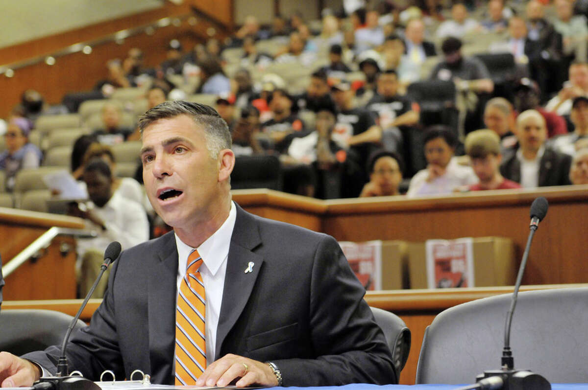 Michael P. Hein, commissioner of the state Office of Temporary And Disability Assistance has faced intense criticism for his agency's slow distribution of pandemic rent relief. (Paul Buckowski / Times Union)