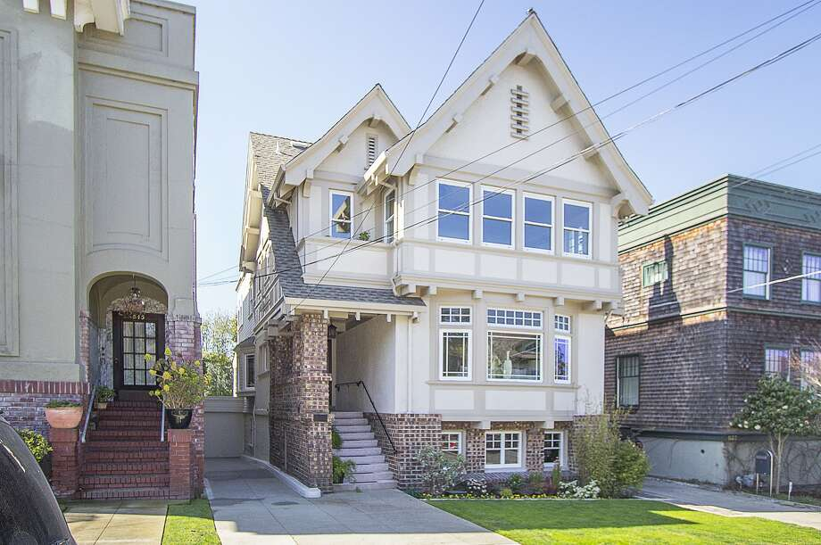 This home at 541 10th Ave. in San Francisco's Inner Richmond sold in April for $3 million, which was $1.1 million over asking. Photo: Courtesy Andrew Herrera II