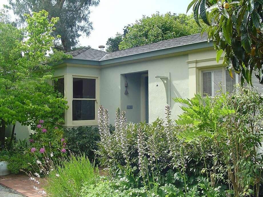 This small home at 410 Marion Ave. in Palo Alto sold last month for $2.7  million, almost $1 million over asking. Photo: Courtesy John Lauer