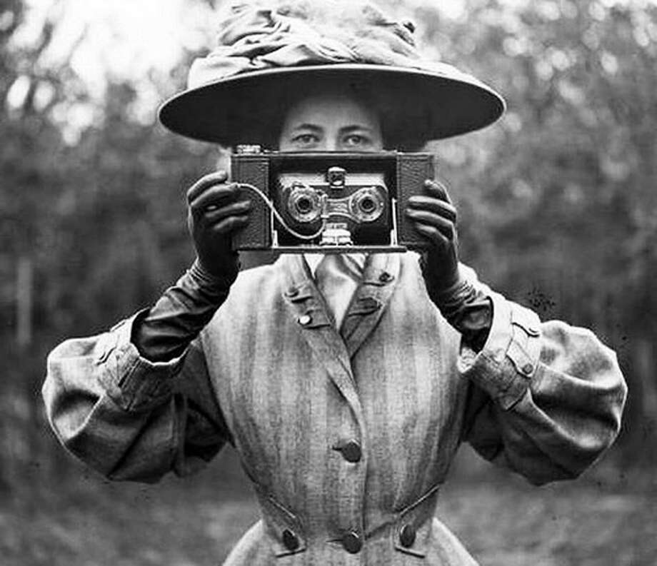 "A free presentation on the history of photography through 1905 is set for 6:30 p.m. Tuesday at the Gunn Library & Museum at 5 Wykeham Road in Washington. An exhibit, ""Between Two Worlds: The Photography of Nell Dorr,"" will be open from 5:30 p.m. to 6:30 p.m. Dorr lived in Washington until her death in 1988. The exhibit and lecture are sponsored by the Dorr Foundation. For information, call 860-868-7756 or visit www.gunnlibrary.org. To loan or contribute a photo from any of the New Milford-area towns should bring it to Norm Cummings at the Greater New Milford Spectrum office at 45B Main St. or email ncummings@newstimes.com. If the photo is to be returned, please leave a phone number and mailing address. Photo: Contributed Photo Courtesy Of Gunn Memorial Museum / The News-Times Contributed"