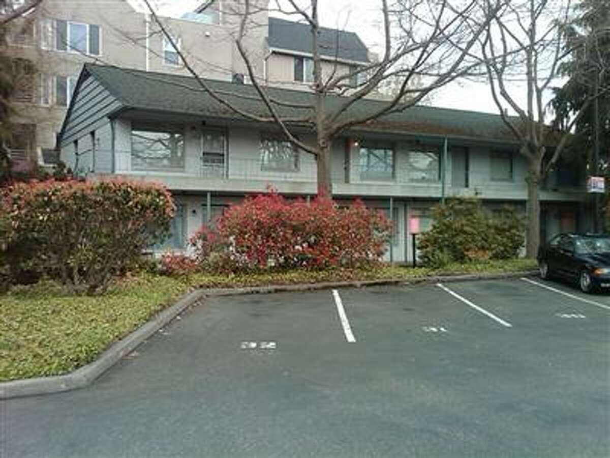 The apartment building at 4528 44th Ave. S.W. in West Seattle, as it appeared recently. Pictured in an King County Assessor's Office photo.