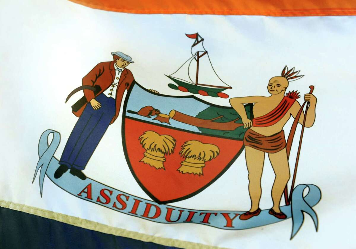 FILE. Writer agrees with earlier commentary that the City of Albany flag, seen here, needs replacing.(Cindy Schultz / Times Union)