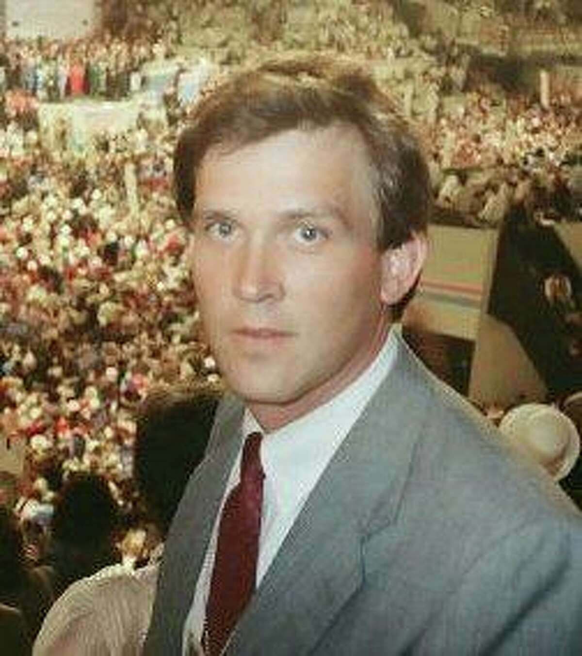 KING anchor Dennis Bounds, pictured early in his career.