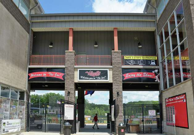 Entrance to Joe Bruno Stadium as they ready for tomorrow's home opener Wednesday June 24, 2015 in Troy, NY.    (John Carl D'Annibale / Times Union) Photo: John Carl D'Annibale