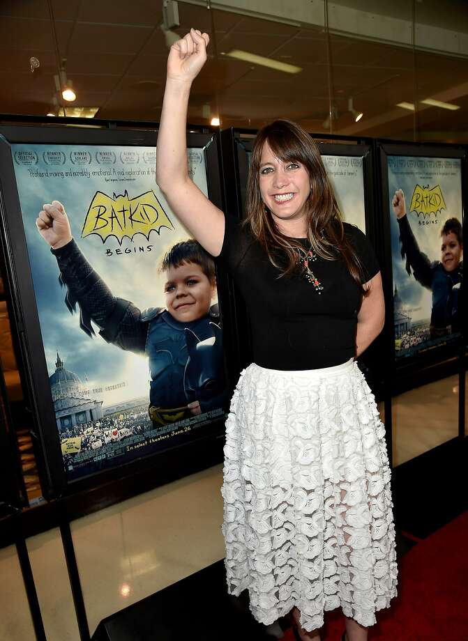"Director/producer/writer Dana Nachman arrives at a screening of Warner Bros. Pictures' ""Batkid Begins"" at the Landmark Theatre on June 17, 2015 in Los Angeles. Photo: Kevin Winter, Getty Images"