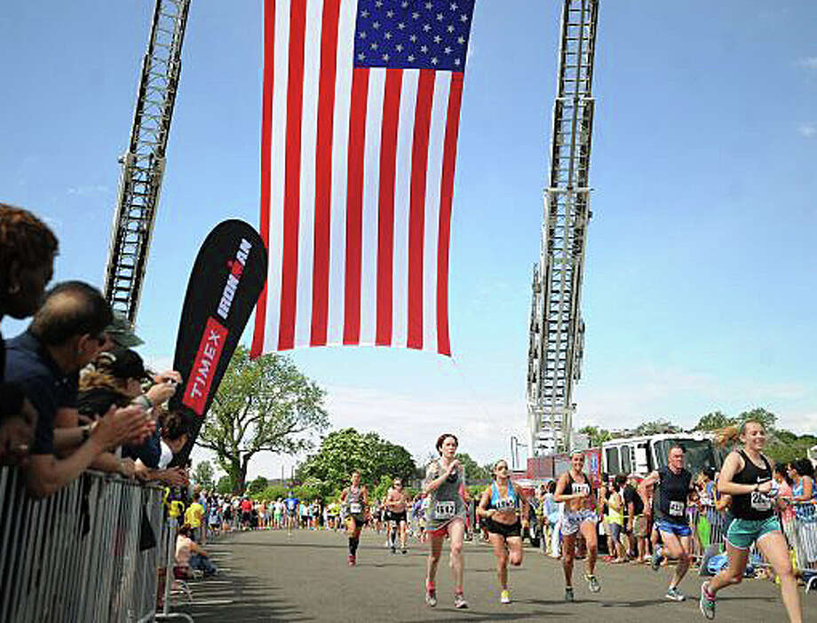 Thousands of runners will once again hit the streets Sunday for the Fairfield Half Marathon, following a shoreline course that starts and finished at Jennings Beach. Photo: File Photo / File Photo / Fairfield Citizen