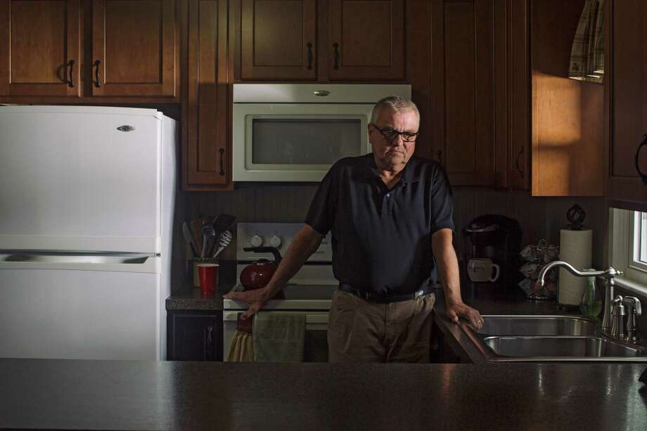 Charles Drapeau, who has multiple myeloma, a blood cancer, and can only afford his medication through health care purchased on the federal exchange, at his home in East Waterboro, Maine. Photo: TRISTAN SPINSKI, NYT / NYTNS