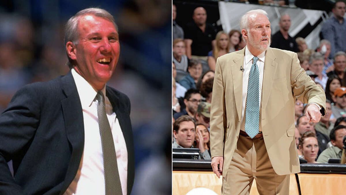 Gregg Popovich was a year in as head coach when he drafted Tim Duncan in 1997.