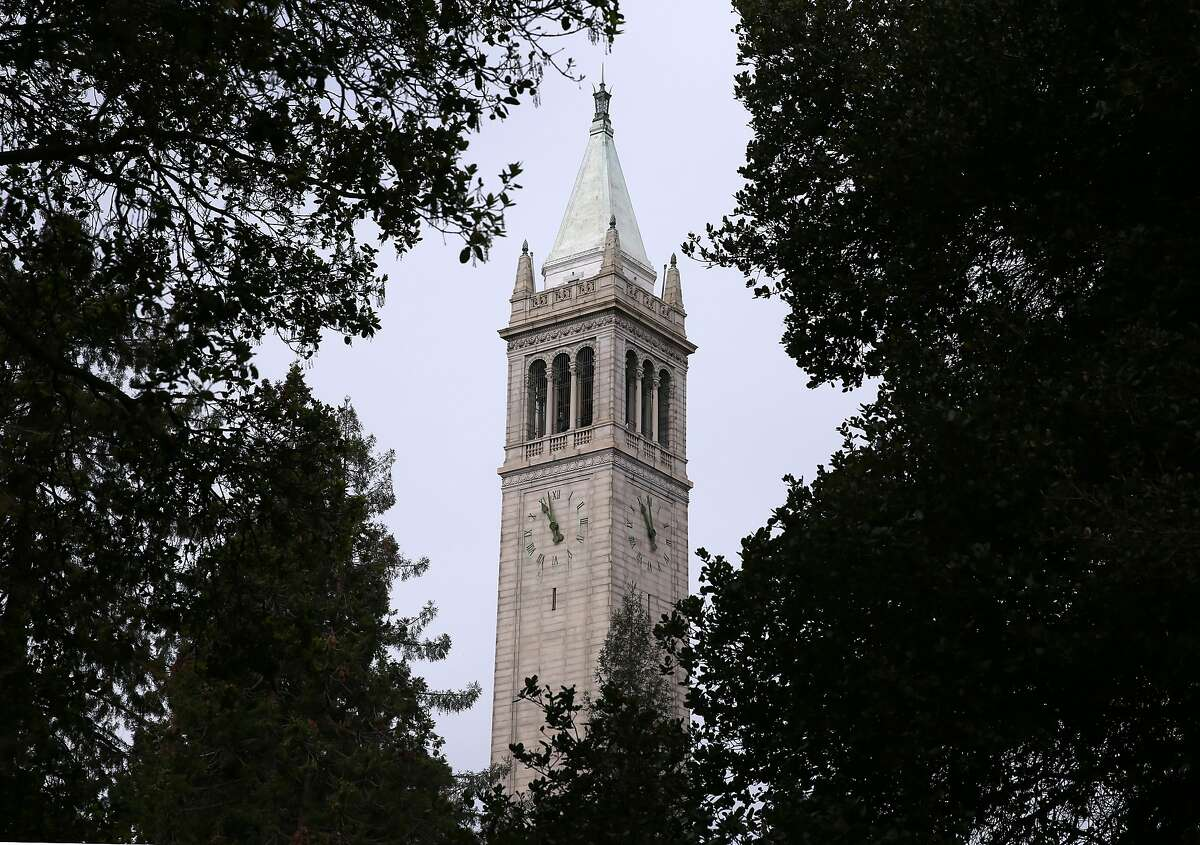 Sather Tower is visible from almost everywhere on the UC Berkeley campus on Tuesday, Jan. 27, 2015. The university is commemorating the 100th birthday of the 307-foot tower, which is commonly known as the Campanile.
