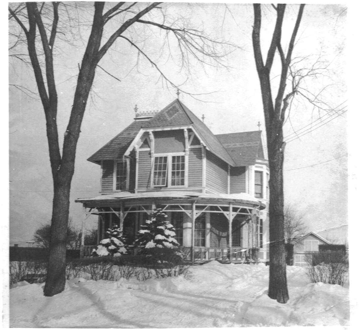 16 Imperial Ave., Cohoes in the 1920s. The current owners have restored it to its original look. (Photo provided by Paul Dunleavy)