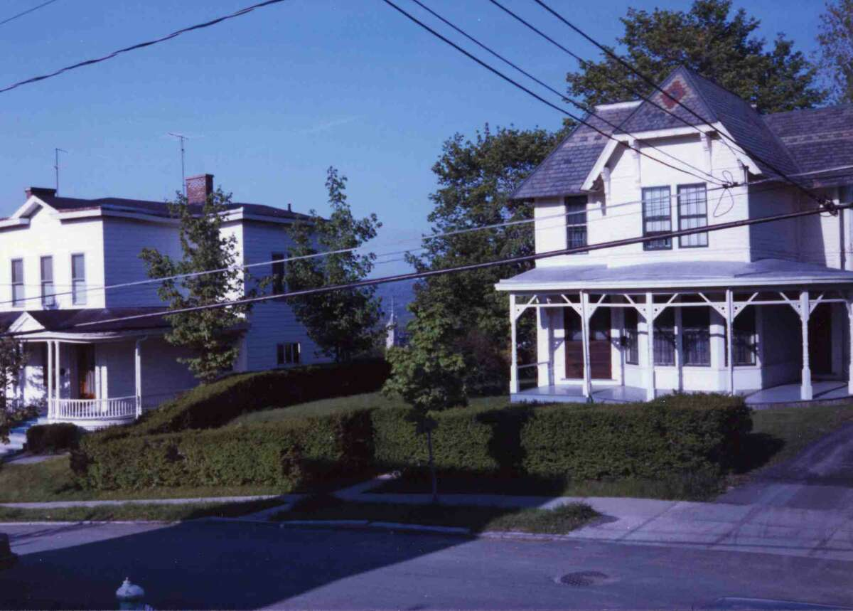 16 Imperial Ave., Cohoes, photographed in the 1970s after vinyl siding that covered up the decorative stick work was added. (Photo provided by Paul Dunleavy)