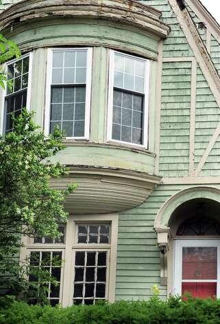Detail of a Victorian style house at 459 Hamilton Street Tuesday June 23, 2015 in Albany, NY.  (John Carl D'Annibale / Times Union) Photo: John Carl D'Annibale / 00032363A