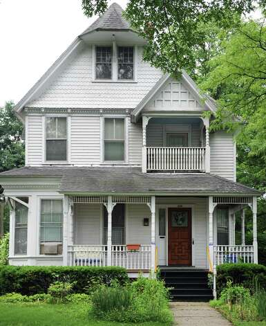 Victorian style house at 1024 Madison Avenue Tuesday June 23, 2015 in Albany, NY.  (John Carl D'Annibale / Times Union) Photo: John Carl D'Annibale / 00032363A