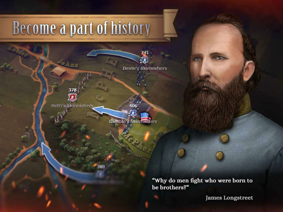 A screen grab from the Civil War game Ultimate General: Gettysburg. Photo: Courtesy Photo