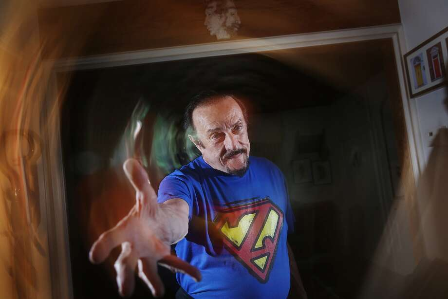 Philip Zimbardo, who led the Stanford Prison Experiment in 1971, poses for a portrait in his home in San Francisco. Photo: Lea Suzuki, The Chronicle