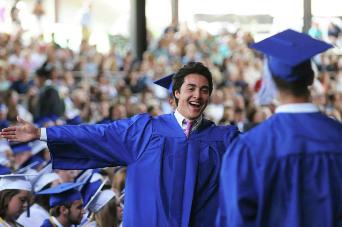 """Rank #363. Saratoga Springs High School in Saratoga Springs. College readiness: 75.0 Graduation rate: 94.4 College bound: 87.5 Avg. SAT Score: 1637 Avg. ACT Score: 25 Student poverty level: 13.3% This school also ranked 447th in Newsweek's 2016 list of """"Top high schools for low-income students."""""""