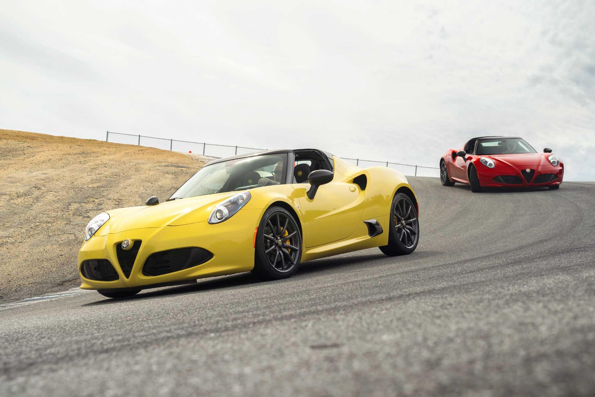 Along came a Spider - Alfa Romeo 4C drop-top coming to U.S.