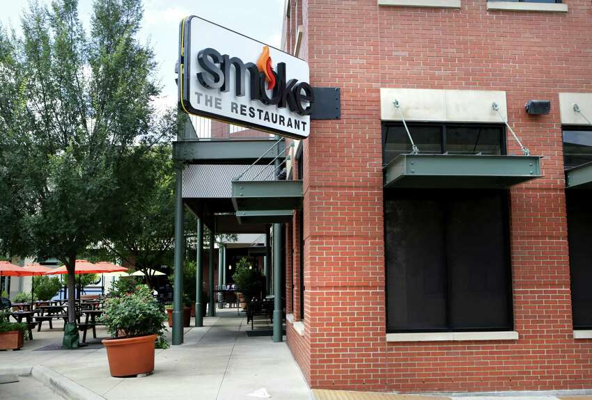 Smoke: The Restaurant: 700 East Sonterra, San Antonio, Texas 78258Date: 01/02/2017 Score: 84Highlights: Food not protected from cross contamination (raw eggs stored above pickles and sweet potatoes), prepared foods did not have consume-by dates, three cold-hold units did not have thermometers, establishment did not have a current/valid permit, inspector observed several expired food items.