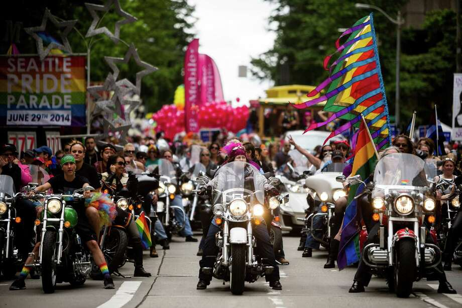 Pride Week in Seattle has come to include a TransPride march on Capitol Hill. The city of Seattle has moved to guarantee rest room access to its transgender citizens. (Jordan Stead, seattlepi.com) Photo: JORDAN STEAD, SEATTLEPI.COM FILE / SEATTLEPI.COM FILE