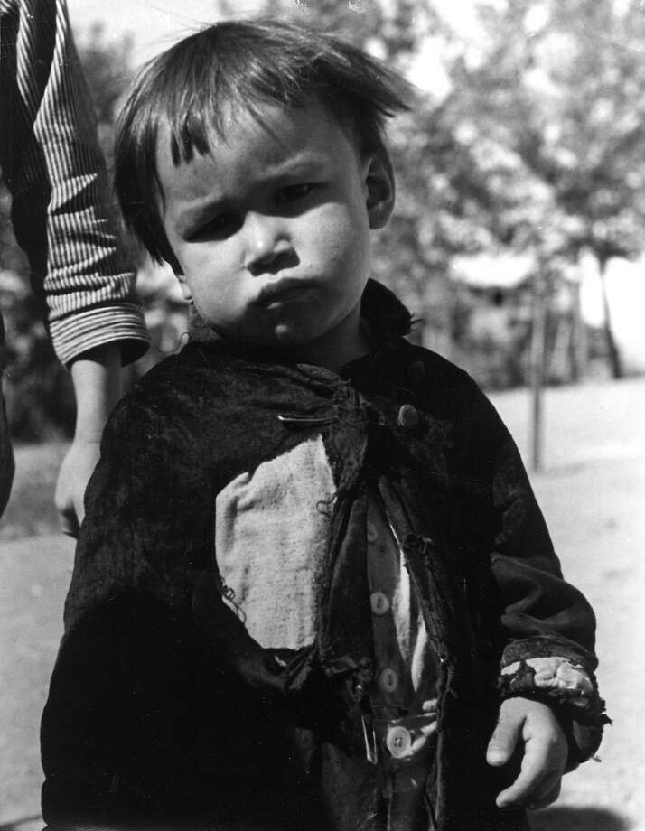 """Cotton Picker's Kid"" was taken by Mieth in 1932. Photo: Hansel Mieth, © 1998 Center For Creative Photography,  The University Of Arizona Foundation"