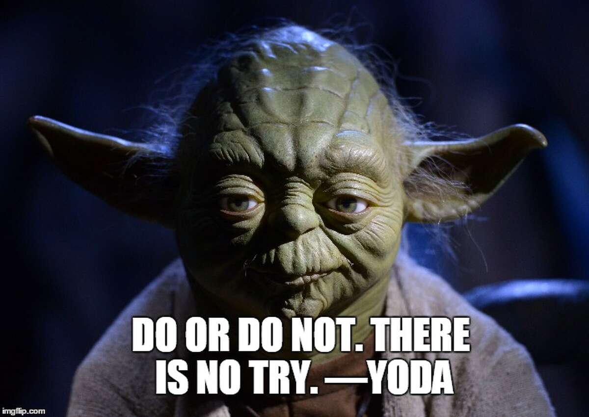 """Cousins, maybe The """"Star Wars"""" character Yoda is said to be based on Einstein."""