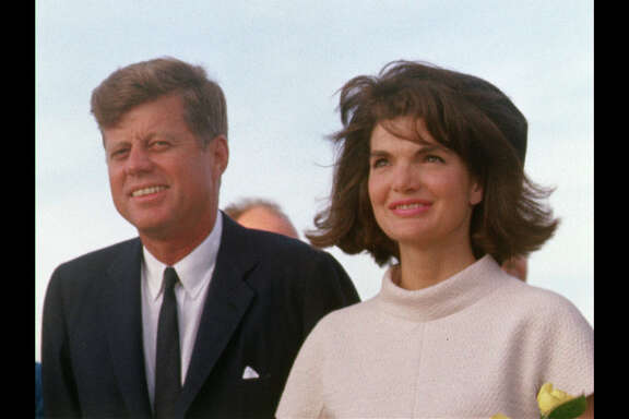 President John F. Kennedy and Jacqueline Kennedy arrive in San Antonio. (Photo Credit: Public Domain)