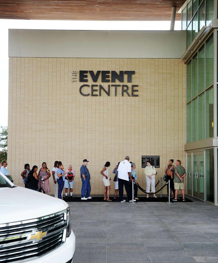 Event Centre on Thursday. The Event Centre Photo: Jake Daniels / ©2015 The Beaumont Enterprise/Jake Daniels