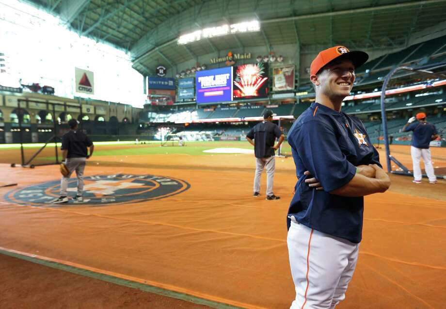 Draft DayBregman is selected No. 2 overall by the Houston Astros in the 2015 MLB Draft. He signed later that month and received a $5.9 million signing bonus, then made the above appearance at Minute Maid Park. Photo: Karen Warren, Houston Chronicle / © 2015 Houston Chronicle