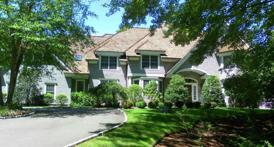 The property at 15 Stoneboat Road is on the market for $3,599,000. Photo: Contributed Photos / Westport News
