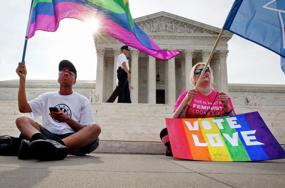 While gay marriage was already legal in much of the country before the Supreme Court's ruling, there were still holdouts.See where the Supreme Court legalized gay marriage, and where it passed on its own.  Photo: Jacquelyn Martin, Associated Press / AP