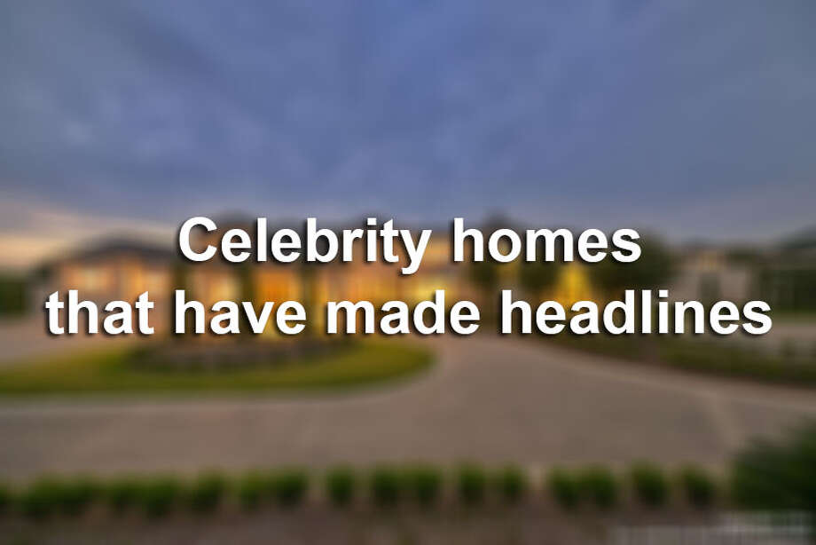 Texas may not be California, but there are plenty of celebrities that reside here in the Lone Star State.Keep clicking to view several celebrity homes in Texas that have made headlines around the nation. Photo: File