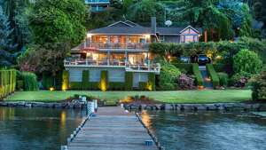 This home at 4412 95th Ave. N.E. in Yarrow Point is listed for $4.5 million. It has five bedrooms and three bathrooms.  You can see the full listing here.
