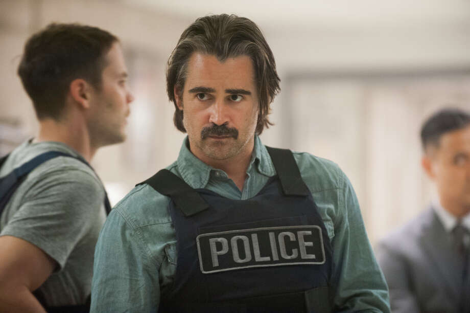 "Colin Farrell portrays Detective Ray Velcoro in the second season of the HBO original series ""True Detective,"" which airs on Sundays. Photo: Lacey Terrell, HONS / HBO"