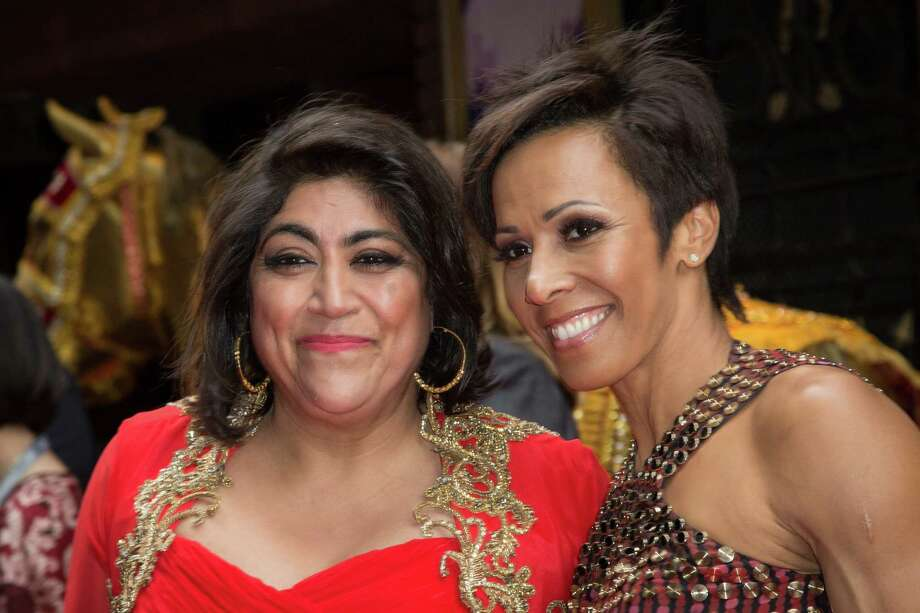 Director Gurinder Chadha, left, and Dame Kelly Holmes Photo: Vianney Le Caer, INVL / Invision