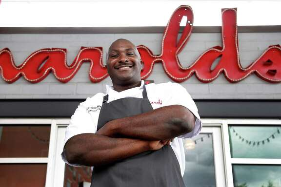 Chef Antoine Ware has been at the helm of the Heights' restaurant Harold's for about 18 months.