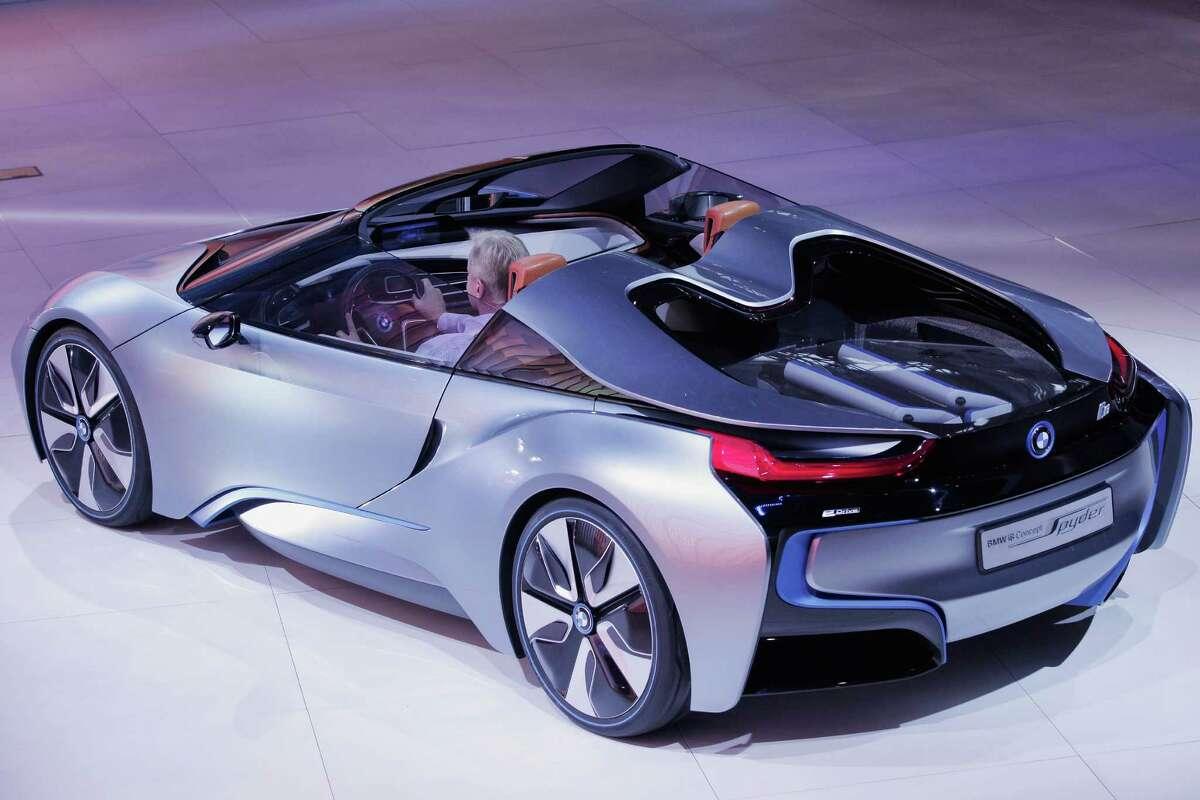 BMW's i8 hybrid sports car