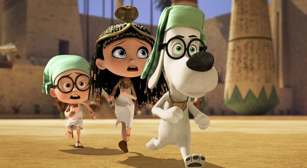 """""""Mr. Peabody & Sherman""""Leaving Netflix August 11thThe time-travelling adventures of an intelligentdog and his adopted son as they try fix a rift in time they created."""