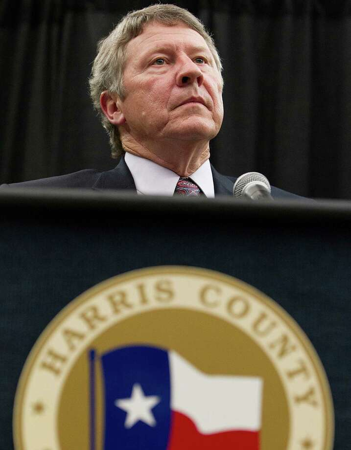 Harris County Judge Ed Emmett must pick a replacement to finish El Franco Lee's term as Precinct 1 Commissioner. Photo: Johnny Hanson, Staff / © 2014  Houston Chronicle