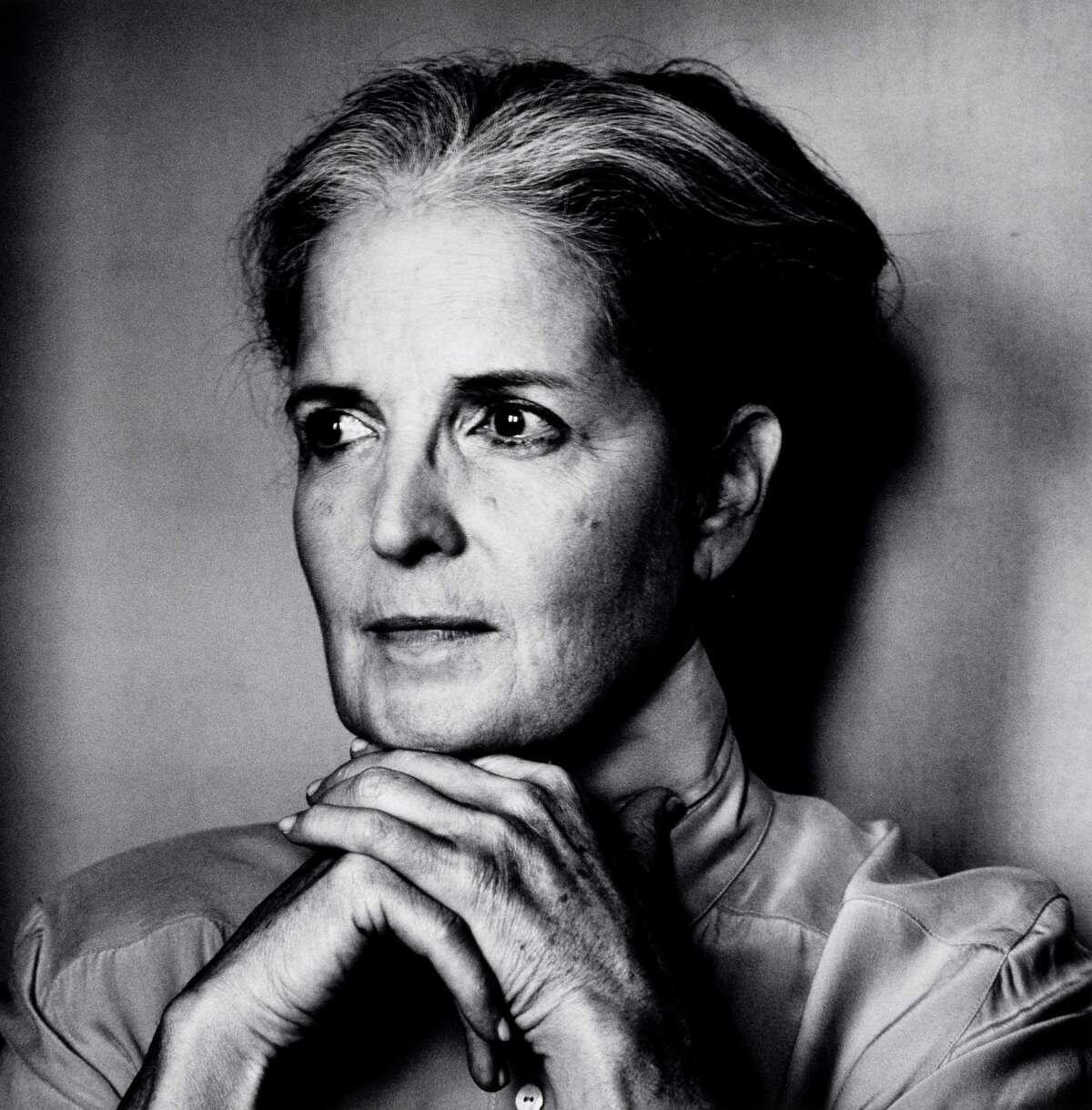 "Irving Penn's ""Anne Wilkes Tucker, New York,"" photographed on Oct. 2, 2003. (Gelatin silver print)"