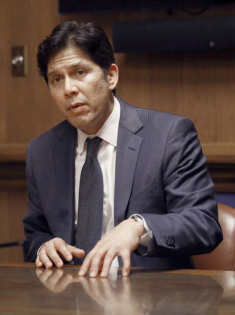 It took a major amount of fine-tuning and compromise to get the  package this far. Its chief sponsor, Senate President Pro Tem Kevin de  León set up a study panel that did its homework  thoughtfully — and without the need for a set-in-cement state ballot  initiative, let it be noted. Photo: Liz Hafalia, The Chronicle